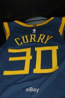 NEW Nike Steph Curry The Bay City Edition Authentic Jersey AH6209-427 Sz 52 XL