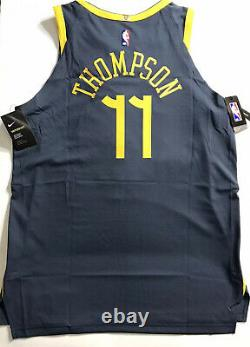 NEW Nike Thomson 11 The Bay City Stitched Authentic Jersey AH6209-430 Sz 52 XL