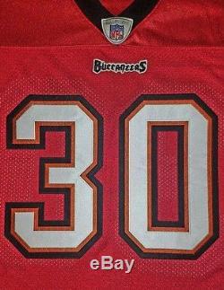 NEW Reebok On Field Tampa Bay Buccaneers #30 Garner Authentic Jersey Mens 52 XL
