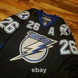 NEW Tampa Bay Lightning Martin St Louis Reebok Edge 2.0 NHL Hockey Jersey Sz 54