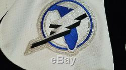 NEW with tags AUTHENTIC Tampa Bay Lightning Jersey nwt Mens 58 black KOHO mic