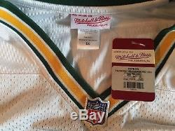 NFL Authentic Mitchell & Ness Green Bay Packers Reggie White Jersey 56! BNWT