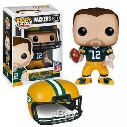 NFL Green Bay Packers POP! Sports Aaron Rodgers Vinyl Figure #30 Green Jersey
