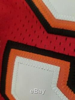 NFL Hall of Famer. Warren Sapp Tampa Bay Buccaneers Authentic Jersey Size 56