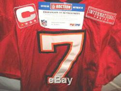 NFL London 2009 original Tampa Bay Buccaneers Jersey QB#7 Leftwich (now OC)
