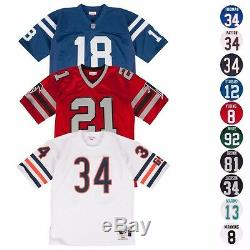 NFL Mitchell & Ness Authentic Throwback Home Away Retro Jersey Collections Men's