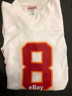 NFL THROWBACK JERSEY -Mitchell & Ness- #8 Steve Young Tampa Bay Buccaneers