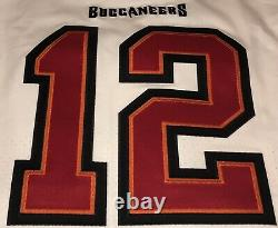 Nfl Tampa Bay Buccaneers Nike White Tom Brady Vapor Elite Jersey ...