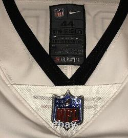 NFL Tampa Bay Buccaneers Nike White Tom Brady Vapor Elite Jersey Size 44 SBLV/55