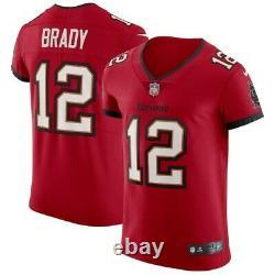 NFL Tom Brady Tampa Bay Buccaneers Vapor Elite NIKE Jersey Red NWT