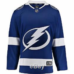 NHL Tampa Bay Lightning Fanatics Branded Home Breakaway Jersey Shirt Mens