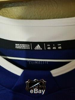 NHL Tampa Bay Lightning Jersey Size 46 Vasilevskiy NWT