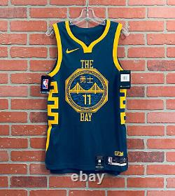 NIKE Golden State Warriors Klay Thompson THE BAY Vapor Jersey Small AH6209-430