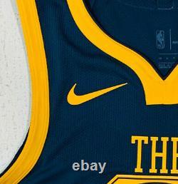 NIKE Golden State Warriors Klay Thompson THE BAY Vapor NBA Jersey Mens Small