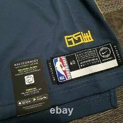 NIKE NBA KLAY THOMPSON The Bay VaporKnit Authentic Jersey Mens 40 SMALL