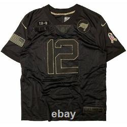 NIKE Tom Brady Tampa Bay Buccaneers Salute To Service Jersey (MEN'S 2XL) XXL