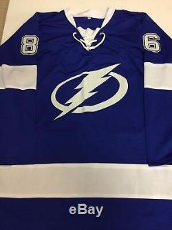 NIKITA KUCHEROV Signed Tampa Bay Lightning Autographed NEW Hockey Jersey COA