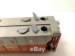 NJ Custom Brass PS-2 Covered Hopper 70 Ton 3-Bay Quaker NSRX324 original box
