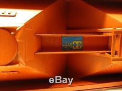 NJ Custom Brass PS-2 Covered Hopper 70 Ton 3-Bay Quaker NSRX324 original box