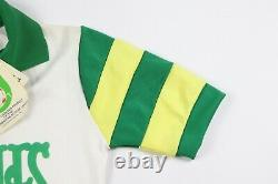 NOS Vintage 80s Youth Large Tampa Bay Rowdies Soccer Jersey NASL Striped White