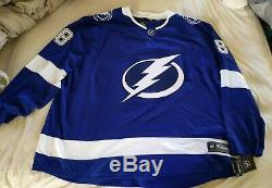 NWT 5XL Andrei Vasilevskiy Tampa Bay Lightning Fanatics Jersey 88