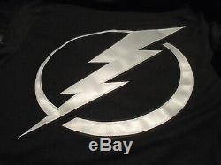 NWT Adidas Tampa Bay Lightning Men's XXL 56 Jersey Blk Alternate w Pull-Strap