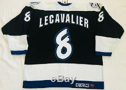 NWT Authentic 1997-98 CCM Tampa Bay Lightning Vincent Lecavalier Rookie Jersey