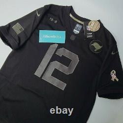 NWT Nike Tom Brady TAMPA BAY BUCS Salute To Service Jersey YOUTH LARGE L RARE