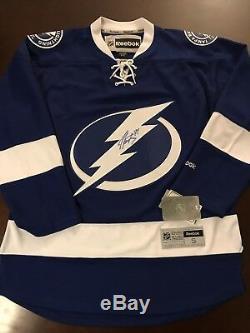 huge selection of 415e8 59682 Nwt Reebok Tampa Bay Lightning Nhl Steven Stamkos Signed ...