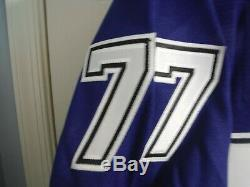 NWT Victor Hedman Tampa Bay Lightning Adidas Authentic NHL Jersey 25th Patch