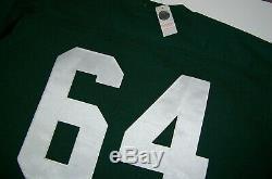 NWT Vintage Green Bay Packers Jerry Kramer 64 Mitchell & Ness Jersey Korea sz 54