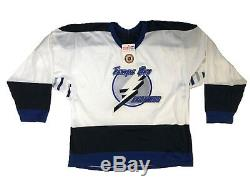 NWT Vintage Tampa Bay Lightning CCM Maska NHL Hockey Jersey 1993-1995 Size Sm