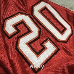 New! 1998 Adidas NFL Authentic Jersey Tampa Bay Buccaneers Ronde Barber Sz. 52