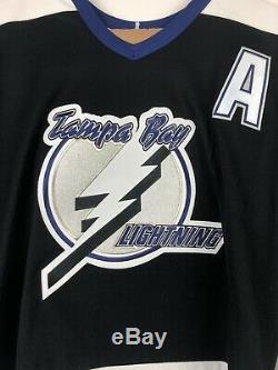New Lecavalier Tampa Bay Lightning Black CCM NHL Jersey Lrg 4 NWT