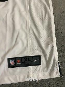 New Men's Tampa Bay Buccaneers Tom Brady Nike White Super Bowl LV Game Jersey XL