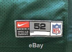 New Nike Authentic Green Bay Packers Brett Favre Jersey Size 52 XXL Vintage