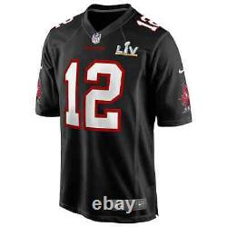 New Nike Tom Brady Tampa Bay Buccaneers Super Bowl LV 55 Game Fashion Jersey