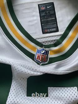 Nike Aaron Rodgers Green Bay Packers Elite Away Jersey AA5469-100 Mens Size 44