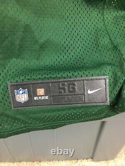 Nike Aaron Rodgers Untouchable Green Bay Packers Pro Cut Jersey Sewn Mens Sz 56