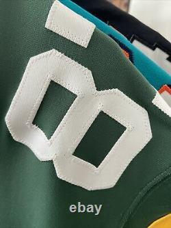 Nike Elite Green Bay Packers Jordy Nelson #87 Pro Cut Sleeves Jersey 48 Rare