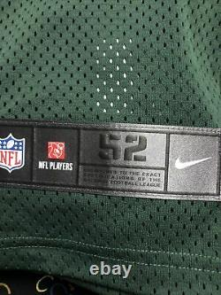 Nike Elite Green Bay Packers NFL Aaron Rodgers Size 52 Authentic On Field Jersey