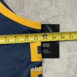 Nike GSW Klay Thompson The Bay Vaporkint Authentic Jersey AH6209-430 Size 52 XL