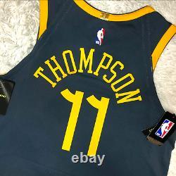 Nike Klay Thompson Golden State Warriors Bay Vaporknit Jersey AH6209-430 48 $200