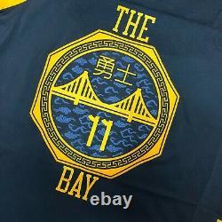 Nike Klay Thompson Golden State Warriors Bay Vaporknit Jersey AH6209-430 52 $200