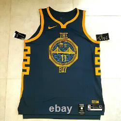 Nike Klay Thompson Golden State Warriors Bay Vaporknit Jersey AH6209-430 SIZE-XL