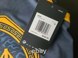 Nike Klay Thompson The Bay City NBA VaporKnit Authentic Jersey AH6209-430 Sz 40