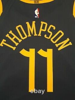 Nike Klay Thompson The Bay City VaporKnit Authentic Jersey Sz L 52 AH6209-430