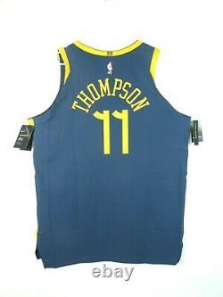 Nike Klay Thompson The Bay City VaporKnit Jersey Size 52 Golden State Warriors