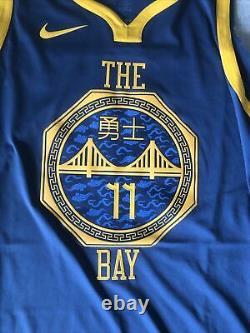 Nike Klay Thompson The Bay City VaporKnit Jersey Size 56 2xl