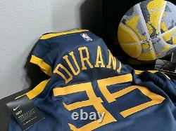 Nike LOT Kevin Durant GS Warriors THE BAY Jersey L AND KD Basketball Ball Bundle